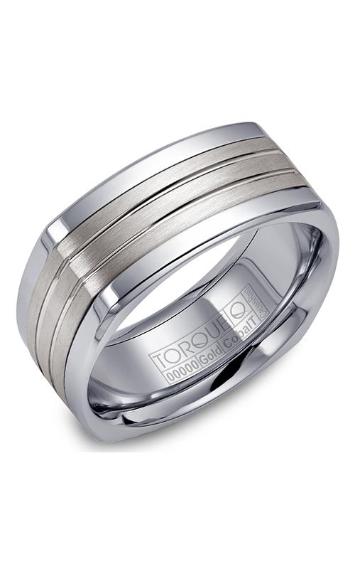 Torque Cobalt and Precious Metals Wedding band CW061SI9 product image