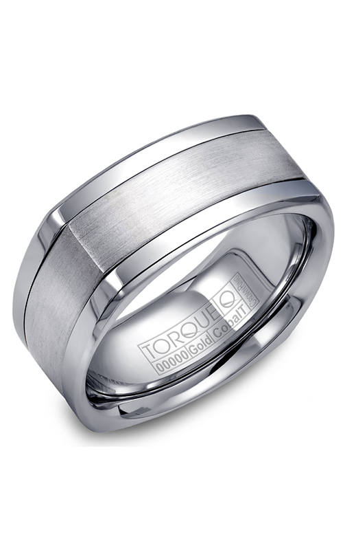 Torque Cobalt and Precious Metals Wedding band CW062MW9 product image