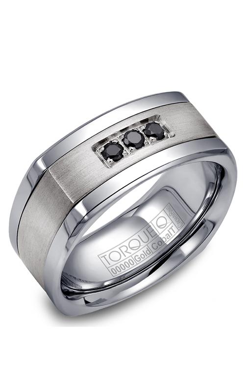 Torque Cobalt and Precious Metals Wedding band CW063SI9 product image