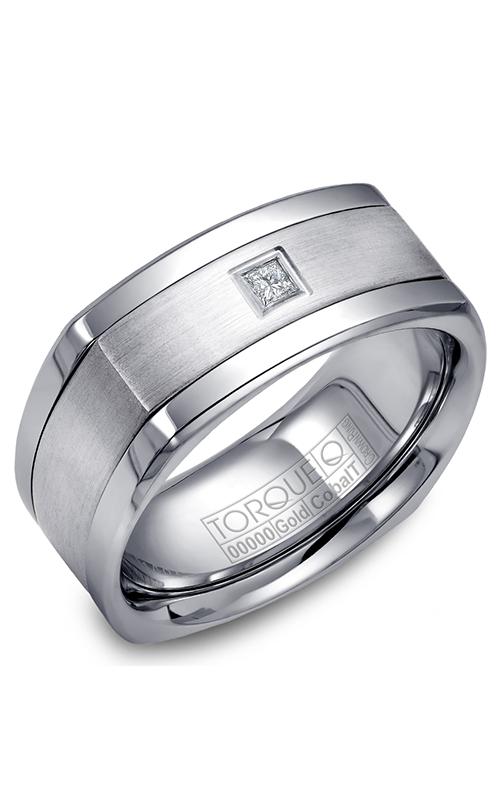 Torque Cobalt and Precious Metals Wedding band CW065MW9 product image