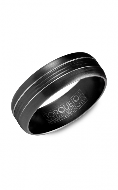 Torque Black Cobalt Wedding band CBB-7036 product image