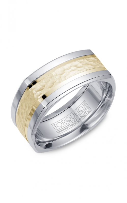 Torque Cobalt and Precious Metals Wedding band CW052MY9 product image