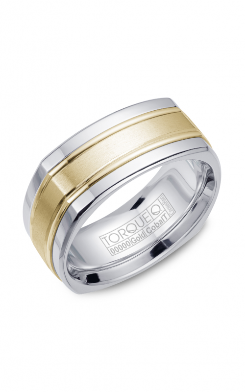 Torque Cobalt and Precious Metals Wedding band CW057MY9 product image
