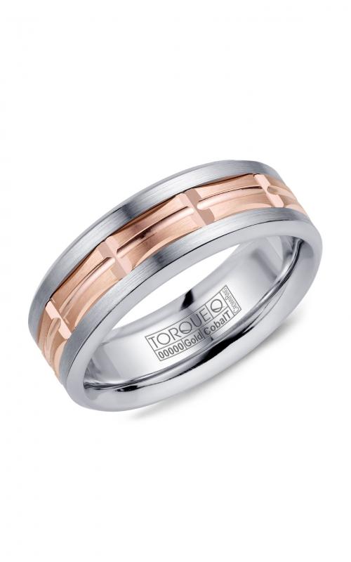 Torque Cobalt and Precious Metals Wedding band CW100MR75 product image