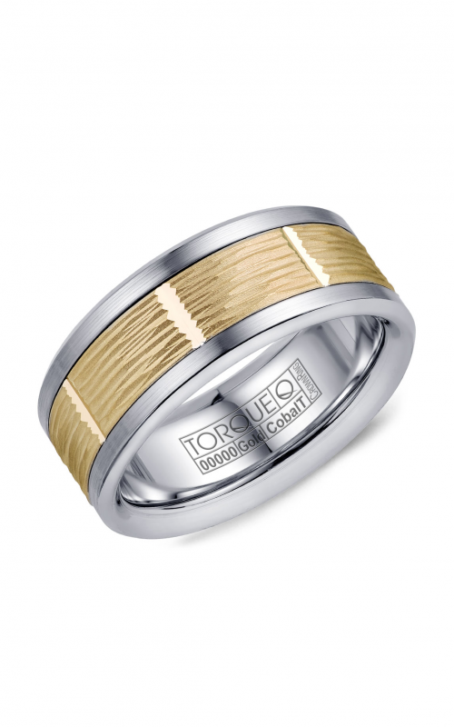Torque Cobalt and Precious Metals Wedding band CW102MY9 product image
