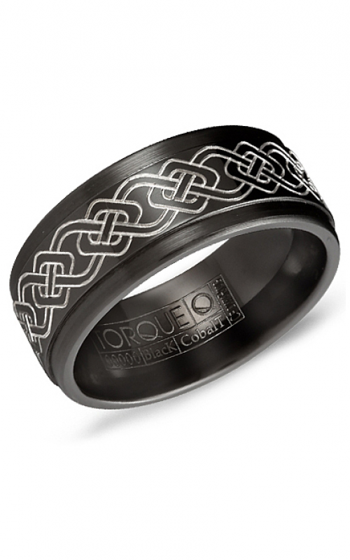 Torque Black Cobalt Wedding band CBB-0023 product image