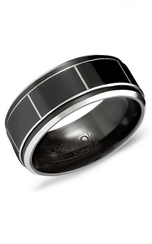 Torque Black Cobalt Wedding band CBB-2028 product image