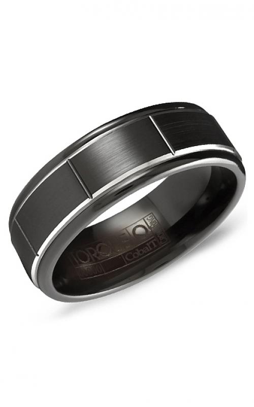 Torque Black Cobalt Wedding band CBB-7031 product image