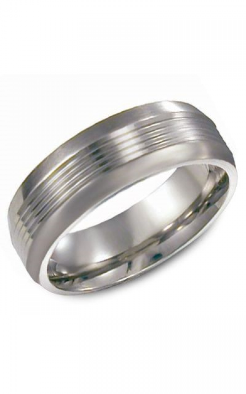 Torque Titanium Wedding band TI0005