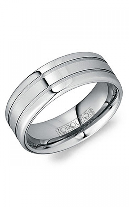 Torque Tungsten Wedding band TU-0009 product image