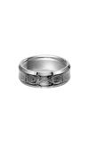 Triton Carved Wedding Band 11-2928C-G