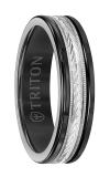 Triton Carved Wedding Band 11-2416BCW6-G