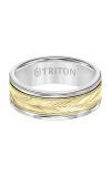 Triton Carved Wedding Band 11-2416WCY8-G