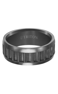 Triton Tungsten Carbide Wedding band 11-4652BC product image