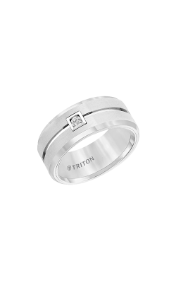 Triton Tungsten Carbide Wedding Band 22-4629HC-G product image