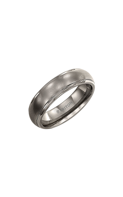 Triton Carved Wedding Band 11-2005T-G product image