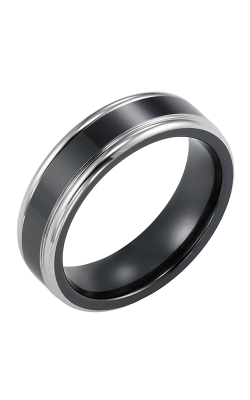 Triton Titanium Wedding band 11-2047BT-G product image