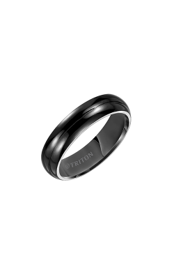 Triton Carved Wedding Band 11-2048BT-G product image