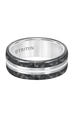 Triton Tungsten Air Wedding band 11-5809THH-G product image