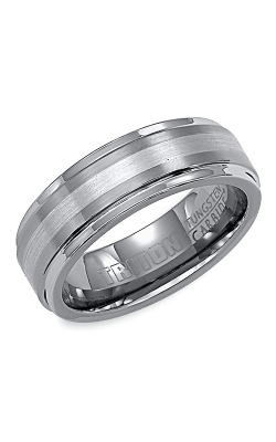 Triton Tungsten Carbide Wedding band 11-2098P7C-G product image