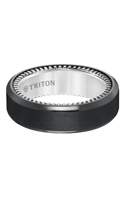 Triton Titanium Wedding Band 11-5637BV-G product image