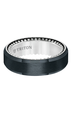 Triton Titanium Wedding band 11-5638BV-G product image