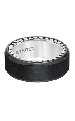Triton Titanium Wedding Band 11-5639BV-G product image