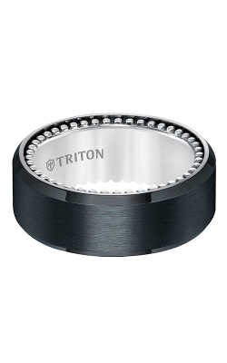 Triton Titanium Wedding Band 11-5640BV-G product image