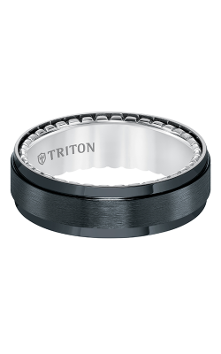 Triton Titanium Wedding band 11-5646BV-G product image