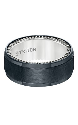 Triton Titanium Wedding band 11-5648BV-G product image