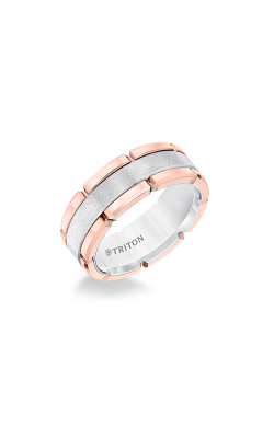 Triton Tungsten Carbide Wedding Band 11-5252RHC-G product image