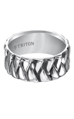 Triton Sterling Silver Wedding band 11-4924SV-G product image