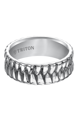 Triton Sterling Silver Wedding band 11-4925SV-G product image