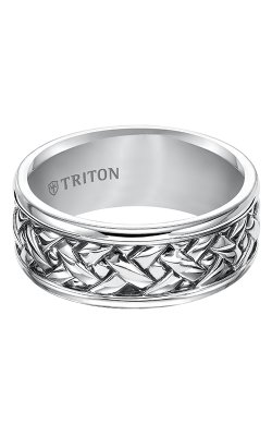 Triton Sterling Silver Wedding band 11-4935SV-G product image