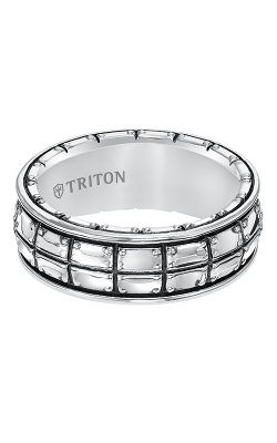 Triton Sterling Silver Wedding band 11-5274SV-G product image