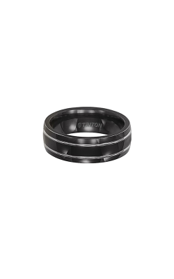Triton Tungsten Carbide Wedding band 11-2028BT-G product image