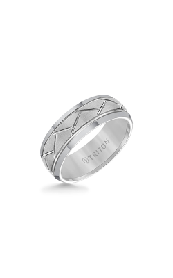 Triton Carved Wedding Band 11-2892C-G product image