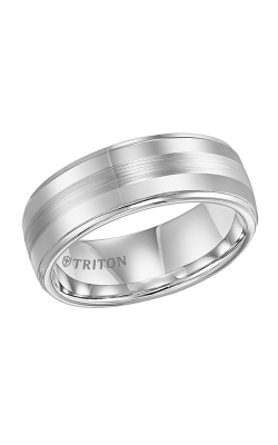 Triton Tungsten Carbide Wedding Band 11-3356Q-G product image