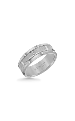 Triton Tungsten Carbide Wedding Band 11-4127C-G product image