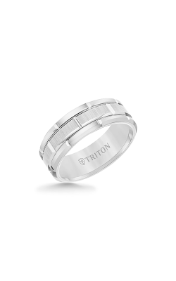Triton Tungsten Carbide Wedding Band 11-4127HC-G product image