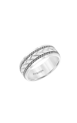 Triton Carved Wedding Band 11-5942SHC8-G product image