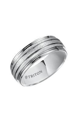 Triton Tungsten Carbide Wedding band 11-4828HC-G product image