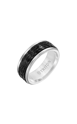 Triton Carved Wedding band 11-6067WCBT8-G product image