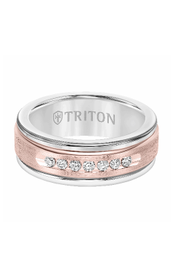 Triton Stone Wedding band 22-2412WCR8-G product image
