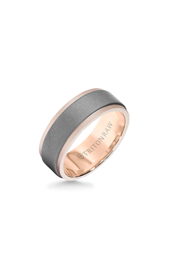 Triton Raw Wedding Band 11-RAW0103RC8-G product image
