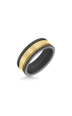 Triton Raw Wedding Band 11-RAW0114YC8-G product image