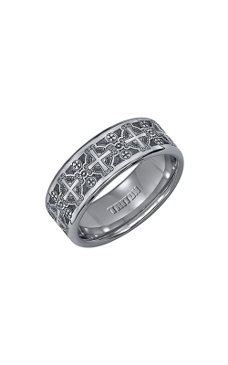 Triton Tungsten Carbide Wedding Band 11-2141C-G product image