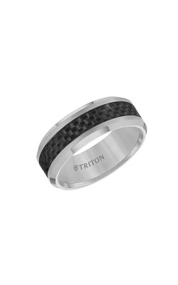 Triton Tungsten Carbide Wedding Band 11-2675C-G product image