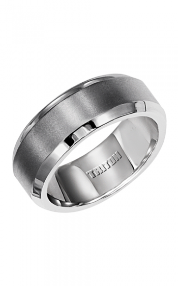Triton Stainless Steel Wedding band 11-2055S-G product image