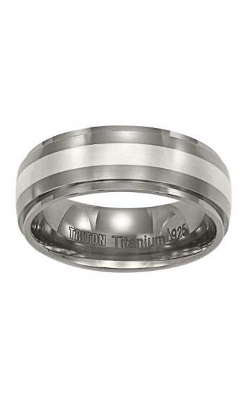 Triton Tungsten Carbide Wedding band 11-2100T-G product image